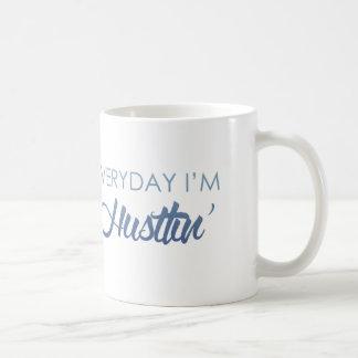 Diario soy Hustlin Taza De Café