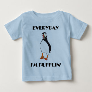 Diario soy pájaro del frailecillo de Pufflin Camiseta