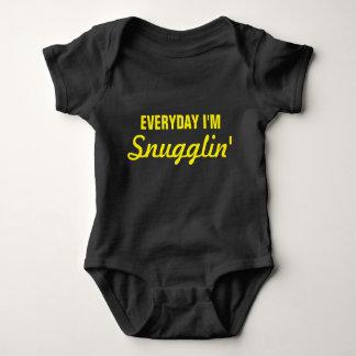Diario soy Snugglin divertido Body Para Bebé