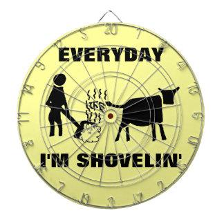 Diario soy vida del shovelin tablero dardos