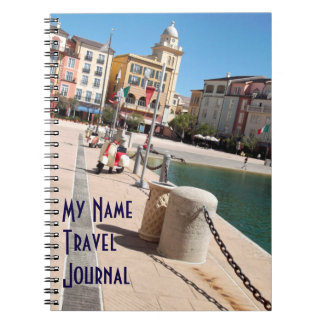 Diario temático del viaje de la plaza italiana cuaderno