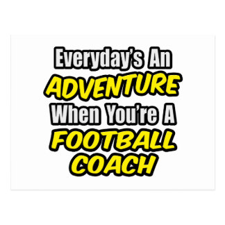 Diario un entrenador de fútbol de la aventura… tarjetas postales