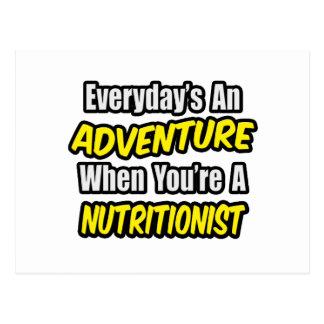 Diario una aventura. Nutricionista Postal