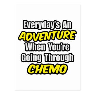 Diario una aventura… que pasa con Chemo Postal