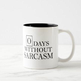 Días cero sin la taza del sarcasmo