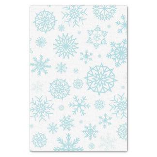 Días de fiesta blancos del navidad del copo de papel de seda