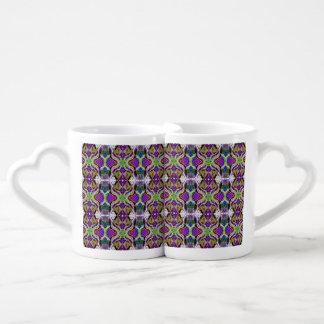 Días de fiesta extraordinarios 2 set de tazas de café