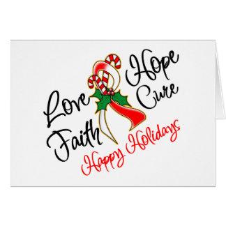 Días de fiesta orales de la esperanza del amor del tarjeta de felicitación