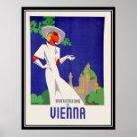 Días de verano en la impresión de Viena