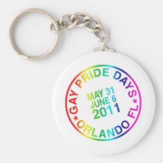 Días gay 2011 llaveros personalizados