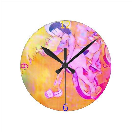 Días inocentes reloj redondo mediano