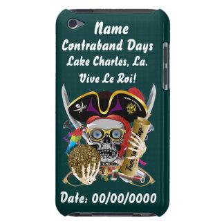 Días Lake Charles, Luisiana del pirata. Indirectas iPod Case-Mate Protector