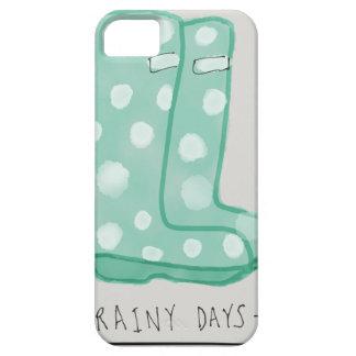 Días lluviosos funda para iPhone SE/5/5s