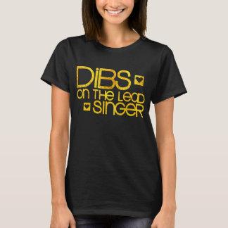 Dibs en el vocalista camiseta