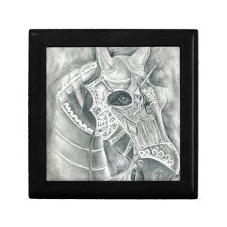 Dibujo acorazado del caballo joyero