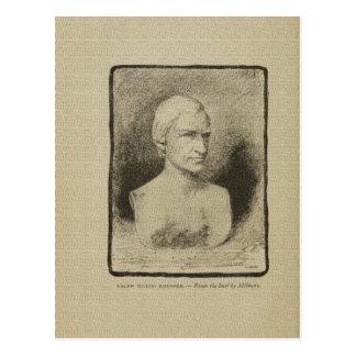 Dibujo americano de James Fenimore Cooper autor Tarjeta Postal