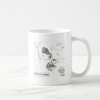 Dibujo animado 2892 de la limpieza en seco taza de café