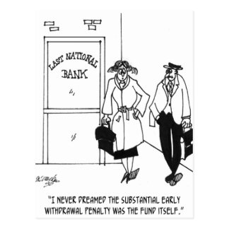 Dibujo animado 3328 del banco postal