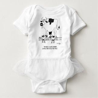 Dibujo animado 3372 de la vaca body para bebé