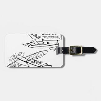Dibujo animado 3682 del vuelo etiqueta para maletas