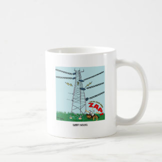 Dibujo animado 9191 del conejo taza de café