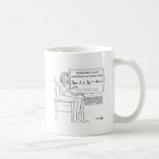 Dibujo animado 9341 del ordenador taza de café