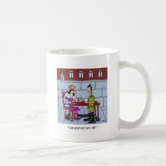 Dibujo animado 9359 de la harina de avena taza de café