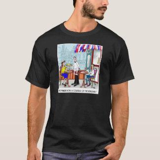 Dibujo animado 9370 del restaurante camiseta