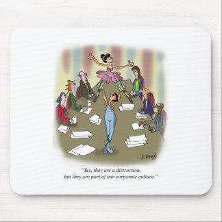 Dibujo animado 9386 del baile alfombrilla de ratón