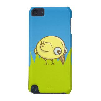 Dibujo animado amarillo del pájaro funda para iPod touch 5G