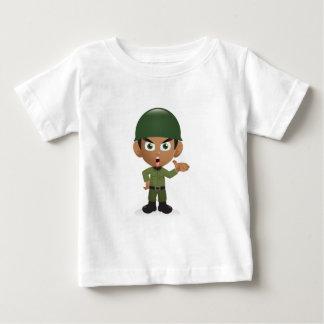 Dibujo animado camiseta para bebé