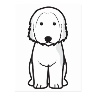 Dibujo animado catalán del perro del perro pastor