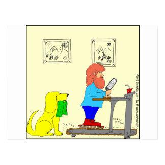 dibujo animado de 364 patín-para-ejercicios tarjeta postal
