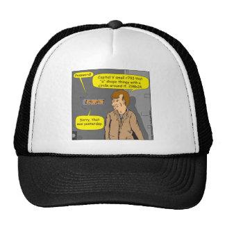 dibujo animado de 680 contraseñas gorra