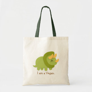 Dibujo animado de Kawaii del Triceratops verde y a