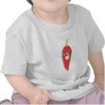 Dibujo animado de la camiseta de Red Hot Chili