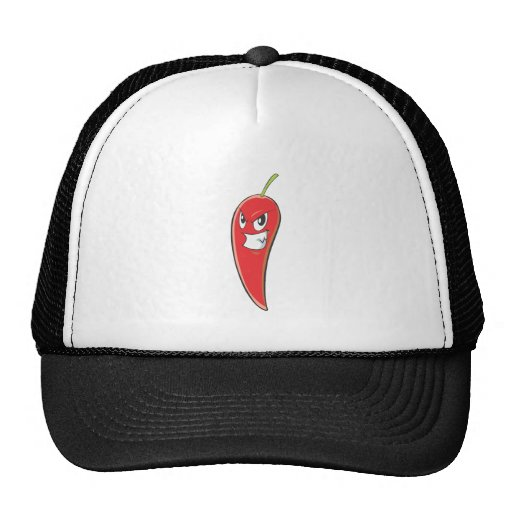 Dibujo animado de la camiseta de Red Hot Chili Pep Gorro De Camionero
