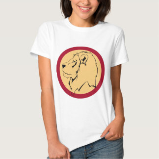 Dibujo animado de la caricatura del león camisetas