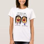 Dibujo animado de las hermanas de BFF Camiseta
