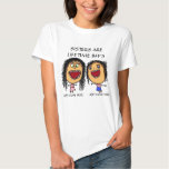 Dibujo animado de las hermanas de BFF Camisetas
