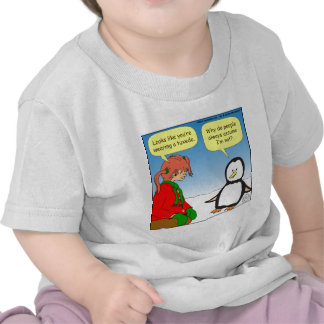 dibujo animado de TUX del pingüino x68 Camiseta