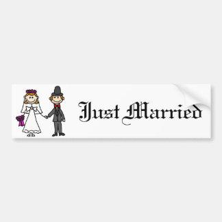 Pegatina para el parachoques del matrimonio homosexual