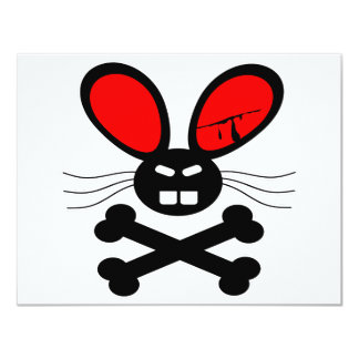 Dibujo animado del conejo del asesino anuncio