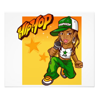 dibujo animado del naranja del verde del chica del foto