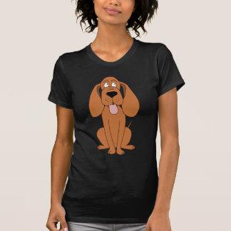 Dibujo animado del perro de Brown. Perro Camiseta