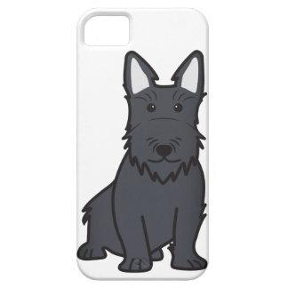 Dibujo animado del perro de Terrier del escocés Funda Para iPhone SE/5/5s