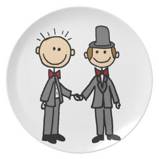 Resultado de imagen para casamiento gay dibujo