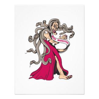 dibujo animado feo del ganador del desfile del mon comunicado personalizado