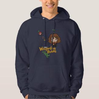 Dibujo animado Hermione y encanto de Ron Sudadera