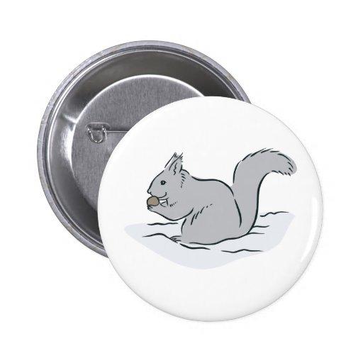 Dibujo animado lindo de las marmotas de los Chipmu Pins